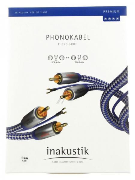 00405115 Kabel Cinch Premium 1,5m INAKUSTIK,0