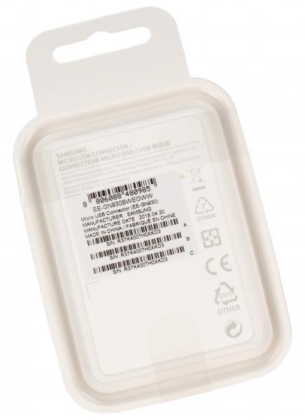 Adapter USB C 3.1 - USB B micro 2.0 (wtyk/ gniazdo) EEGN930BWEGWW,1
