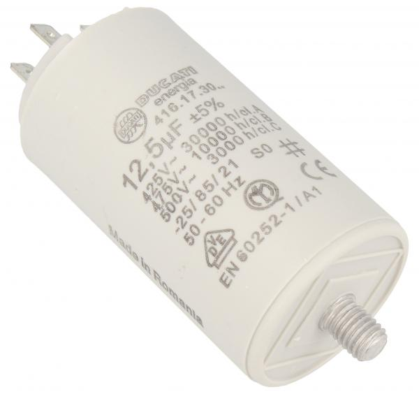 Kondensator rozruchowy 12,5UF400450VFASTON6,3MM,0