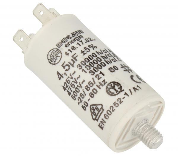 Kondensator rozruchowy 4,5UF400450VFASTON6,3MM,0