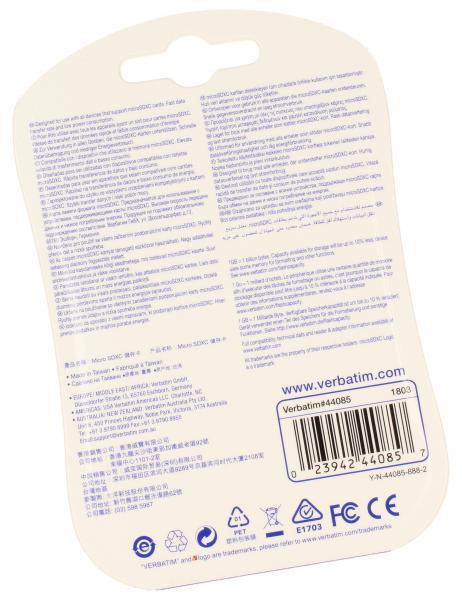 Karta pamięci SD XC 128GB klasa 10 do aparatu fotograficznego Verbatim,1