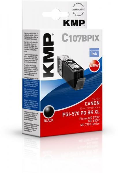 Tusz czarny do drukarki KMP C107BPIX,0