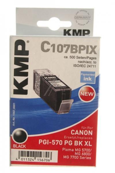 Tusz czarny do drukarki KMP C107BPIX,1