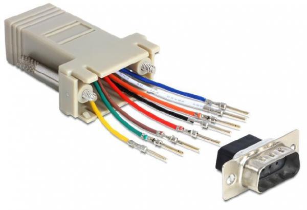 Adapter D-sub 9 pin - RJ-45 (wtyk/ gniazdo) 65462,1