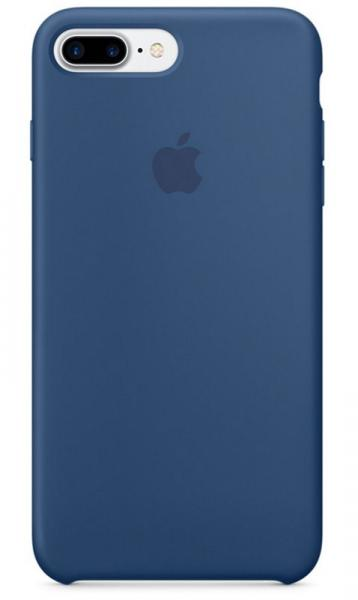 MMQX2ZMA APPLE IPHONE 7 PLUS SILICONE CASE OZEANBLAU APPLE,0