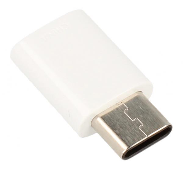Adapter USB C 3.1 - USB B micro 2.0 (wtyk/ gniazdo) GH9840218A,0