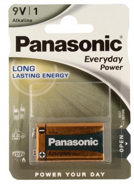 6LR61EPS1BP 6F22 9V bateria alkaliczna 1 szt. PANASONIC,0