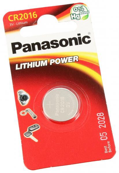 CR2016 | DL2016 | KCR2016 Bateria Lithium-manganese dioxide (Li-MnO2) 3V 90mAh Panasonic,0