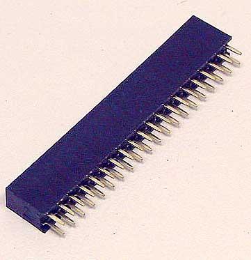 Gniazdo proste 2X20 pin,0