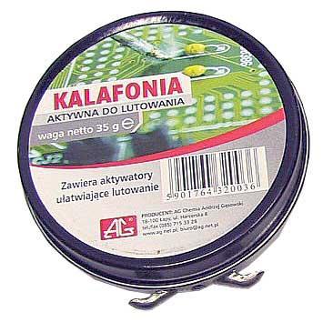 KA25AG Kalafonia | Pasta lutownicza 20g AG,0