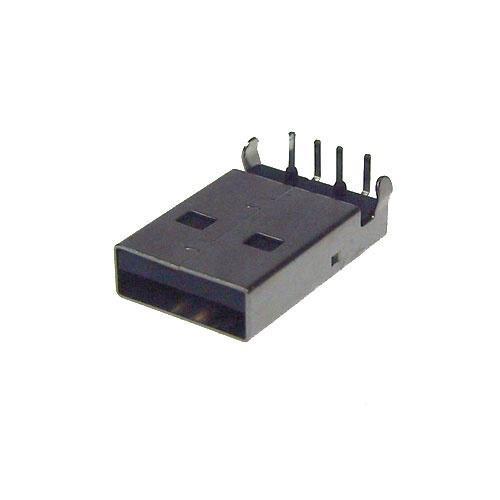Wtyk USB A do druku (kątowy),0