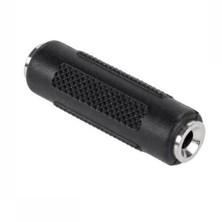 Łącznik JACK 3.5mm stereo - JACK (gniazdo/ stereo gniazdo),0