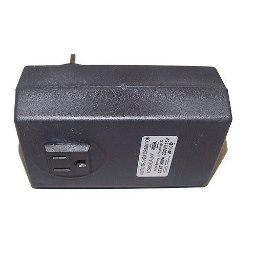 Autotransformator 230/115V 50W z obudową bez uziemienia,0