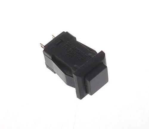 Przełącznik miniaturowy ON-OFF czarny,0