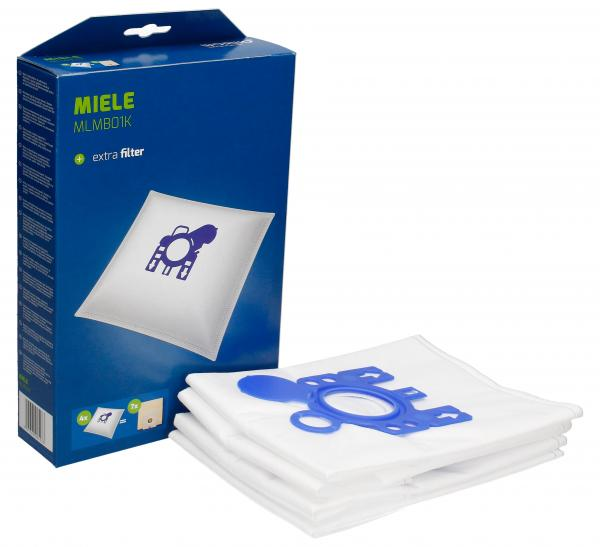 Worki Perfect Bag Worwo (4szt.) + filtr wlotowy (1szt.) do odkurzacza Miele MLMB01K,0