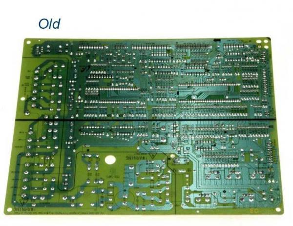 Moduł elektroniczny do lodówki DA4100532P,3
