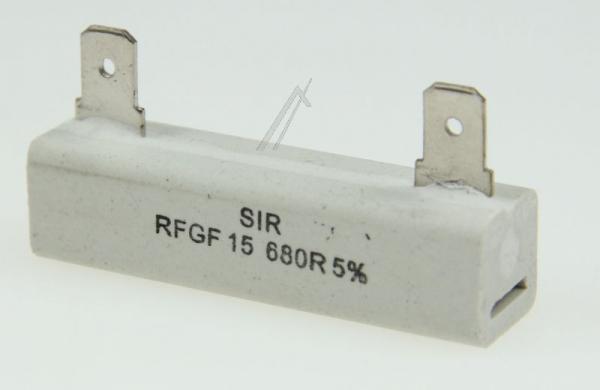 680R | 15W | Rezystor Indesit C00125314,0