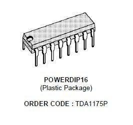 TDA1175P Układ scalony,0