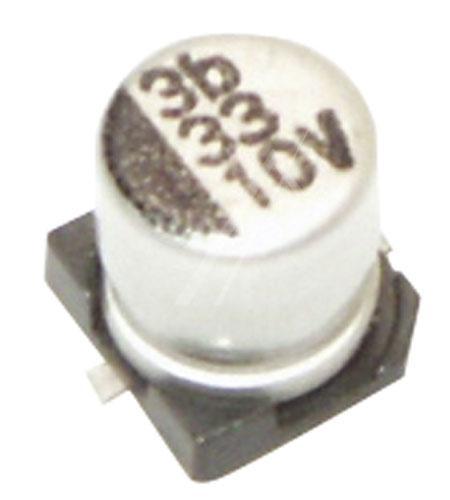 33uF   10V Kondensator elektrolityczny 105°C SMD 5.8mm/5mm,0