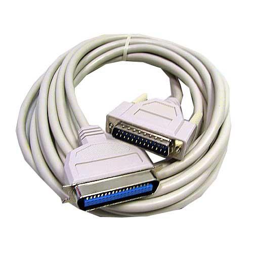 Kabel LPT 5m 36 pin (wtyk/ 25 pin wtyk) standard,0