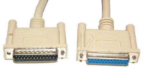 Kabel LPT 25 pin 3m (gniazdo/ wtyk) standard,0