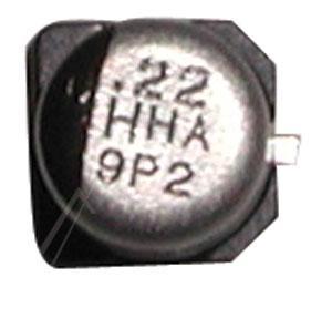 0.22uF | 50V Kondensator elektrolityczny 105°C SMD 5.8mm/4mm,0