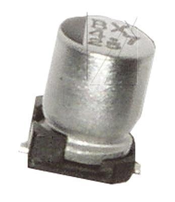 1uF | 50V Kondensator elektrolityczny 105°C SMD 5.5mm/4mm,0