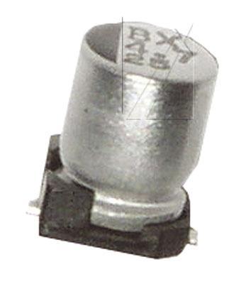 3.3uF | 50V Kondensator elektrolityczny 105°C SMD 5.8mm/4mm,0