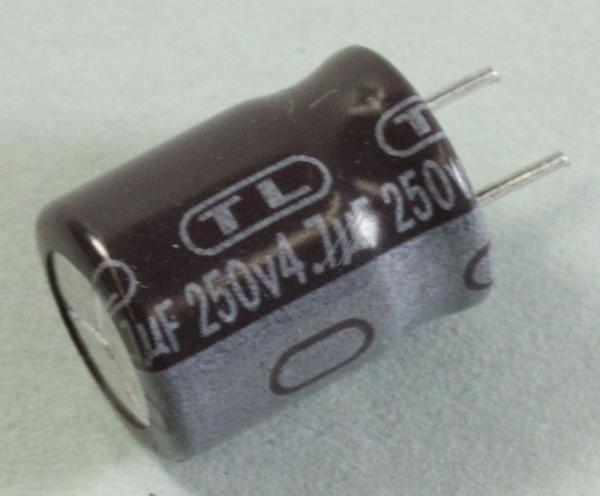 4.7uF | 250V Kondensator elektrolityczny 85°C 30000415 11.5mm/8mm,0