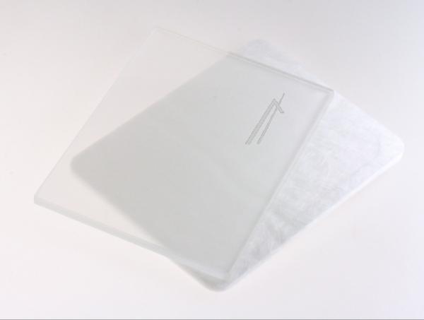 Płyta szklana komory do mikrofalówki 00057345,0