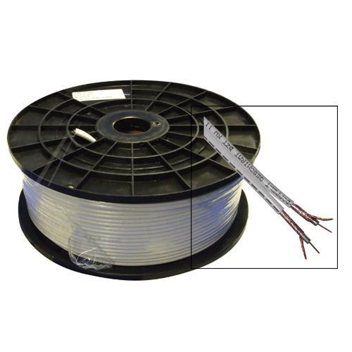 Kabel 100m koncentryczny 2x 5,5mm   (stal/miedź),0
