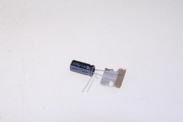 2200uF | 6.3V Kondensator elektrolityczny 105°C 30056144 20mm/10mm,0