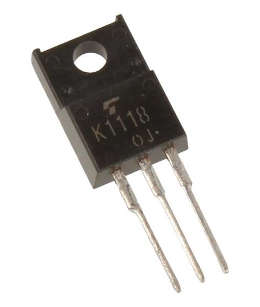 2SK1118 Tranzystor TO-220FP (n-channel) 600V 6A 50MHz,0