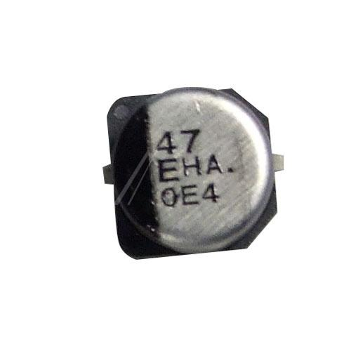 47uF | 25V Kondensator elektrolityczny SMD PANASONIC 5.4mm/6.3mm,0