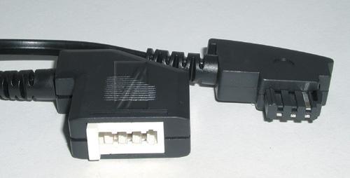Kabel TAE 3m (wtyk/ gniazdo),0