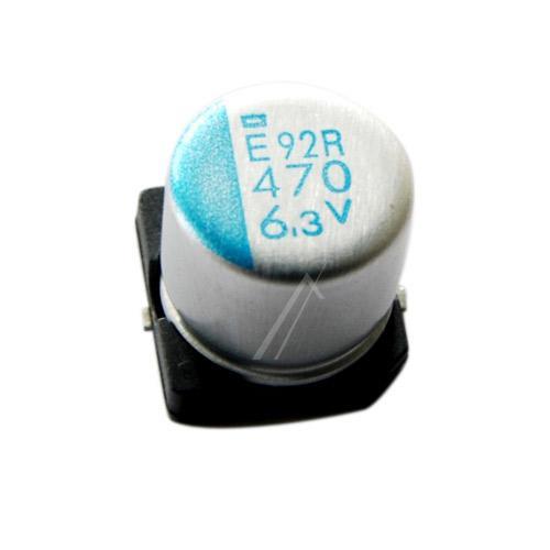 470uF | 6.3V Kondensator elektrolityczny 105°C SMD 7.7mm/8mm,0