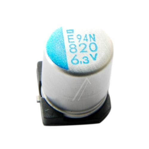820uF | 6.3V Kondensator elektrolityczny 105°C SMD 10mm/8mm,0