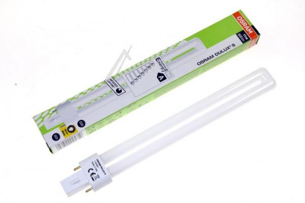 Żarówka | Świetlówka energooszczędna G23 11W Osram Dulux S (Ciepły biały),0
