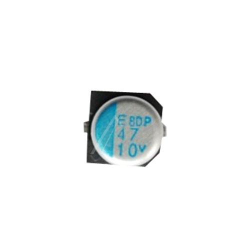 47uF   10V Kondensator elektrolityczny 105°C SMD 5.8mm/5mm,0