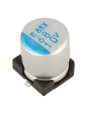 68uF | 10V Kondensator elektrolityczny 105°C SMD 5.8mm/5mm,0