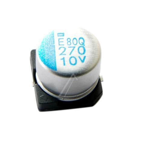 270uF | 10V Kondensator elektrolityczny 105°C SMD 6.7mm/8mm,0