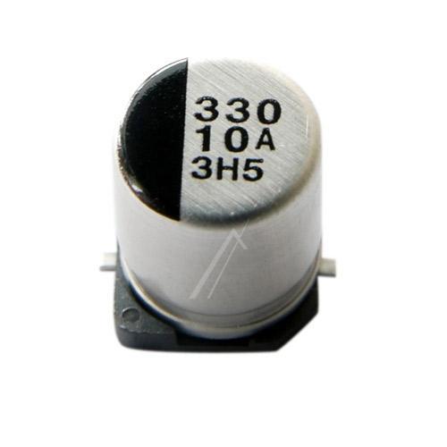 330uF | 10V Kondensator elektrolityczny 105°C SMD 7.7mm/8mm,0