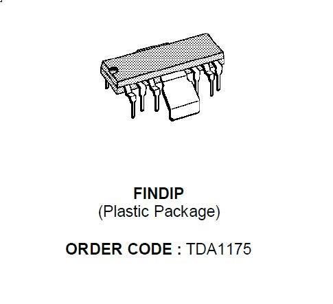 TDA1175 Układ scalony IC,0