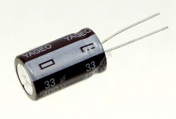 33uF | 400V Kondensator elektrolityczny 105°C 25mm/16mm,0