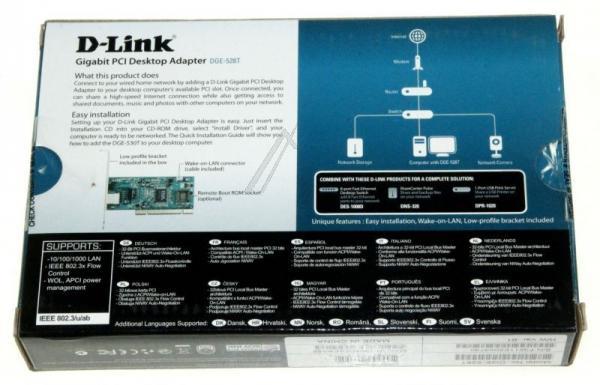 Karta sieciowa PCI D-Link DGE528T,2