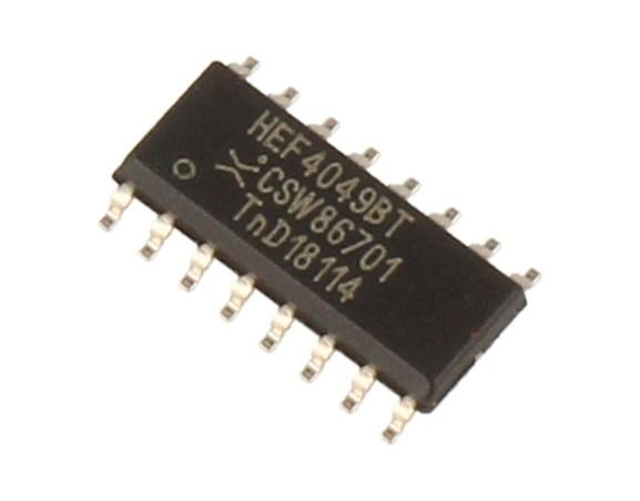 HEF4049BT soic16 ic NXP,0