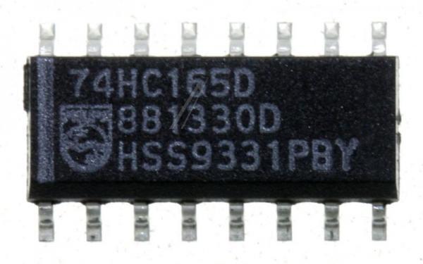 74HC165D,652 IC 74HC CMOS, SMD SOIC-16,0
