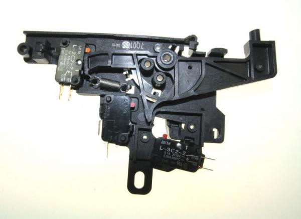 Zatrzask | Zamek drzwiczek kompletny do mikrofalówki 00648742,0
