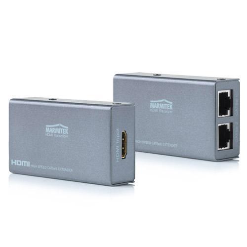 Konwerter RJ-45 - HDMI (gniazdo/ gniazdo) Maritimek 09875,0