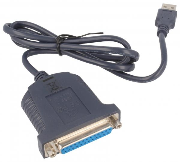 Kabel 0.9m USB A - LPT (wtyk/ 25 pin gniazdo) 61330,0